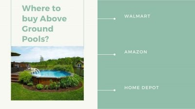 Where to buy Above Ground Pools?