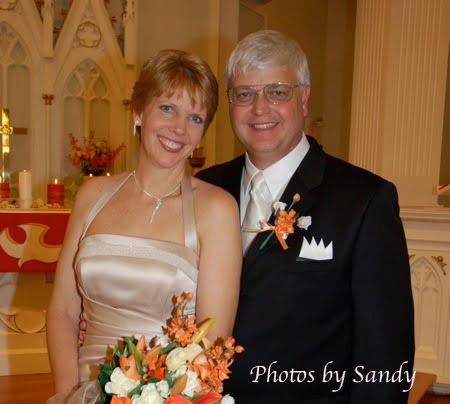 sandy and dave wedding