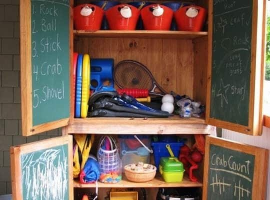 25 Useful Outdoor Toy Storage Ideas to Keep Your Family Organized!