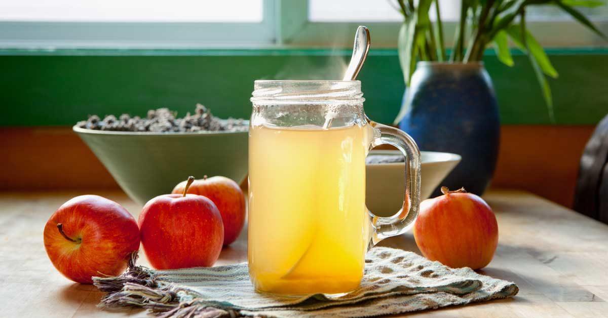 Blend Lemon Juice and Vinegar