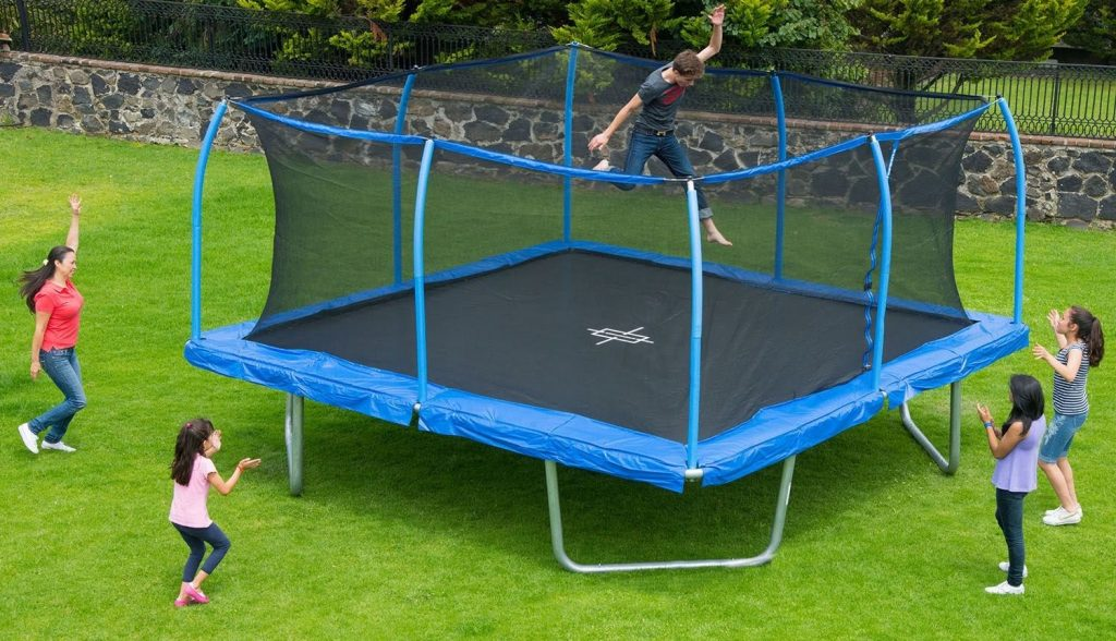 Large Mat for Jumping