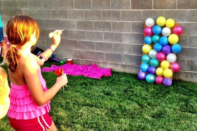 Water Balloon Darts Game