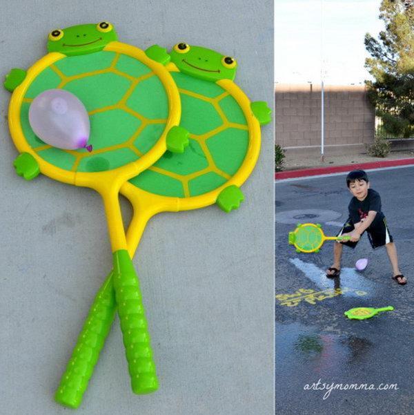 Racket Water Balloon Game