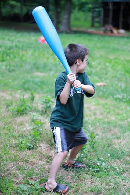 Water Balloon Baseball Game