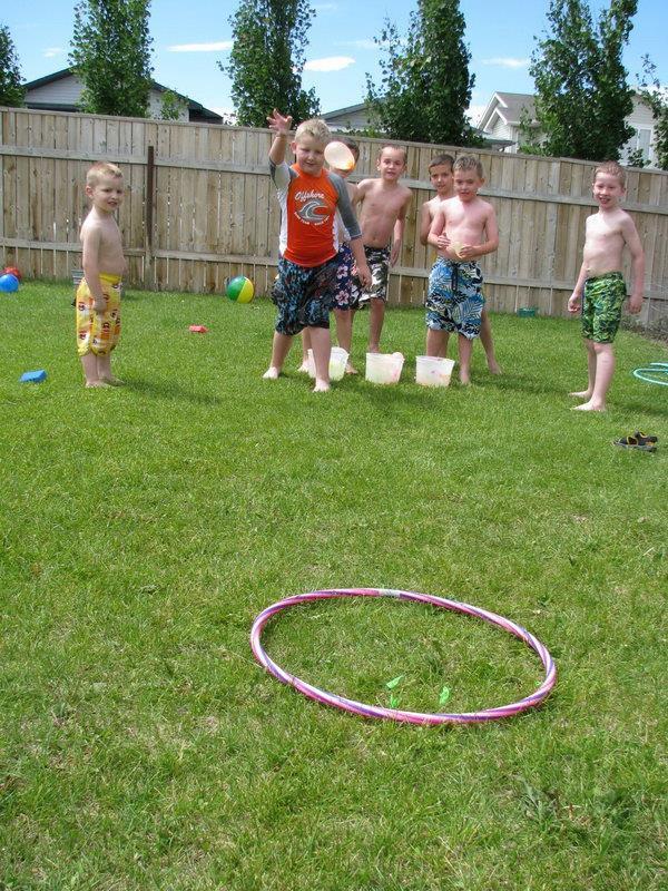 Water Balloon Target Toss Game