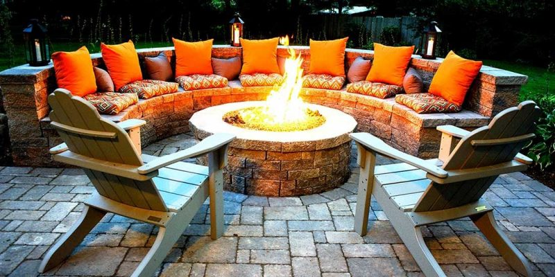14 Amazing Fire Pit Ideas: #7 is Stunning