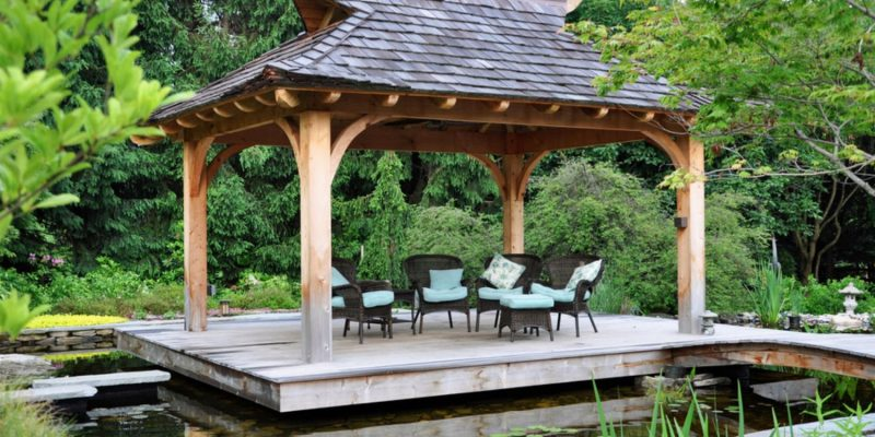 15 Appealing Gazebo Design Ideas to Look Out for your house