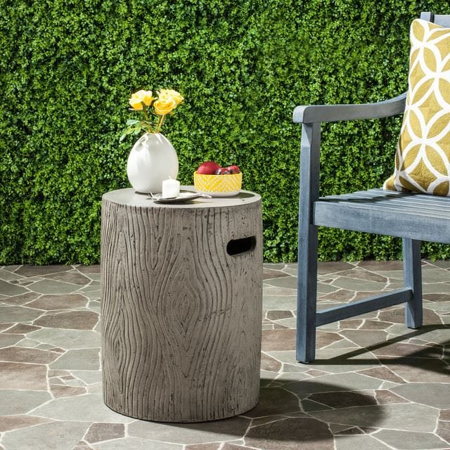 Dark Gray Accent Table