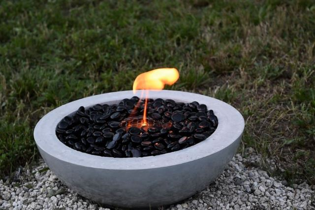 Concrete Fire Bowl