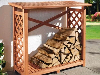 6 Best DIY Firewood Rack Plans That You Can Build Easily