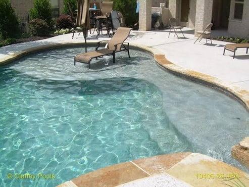 Baja Shelf Pool