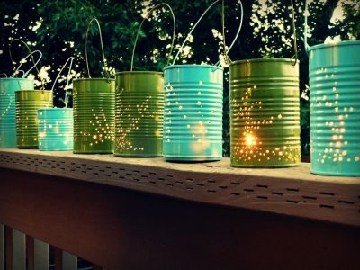 How to Make Tin Can Solar Lights