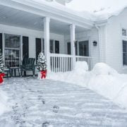 How to Salt or Sand your Driveway During Winters
