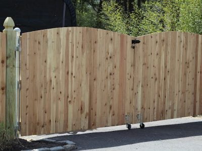 Should Your Fence Gate Swing in Or Out?