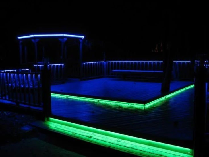 Color Changing Electric Strip