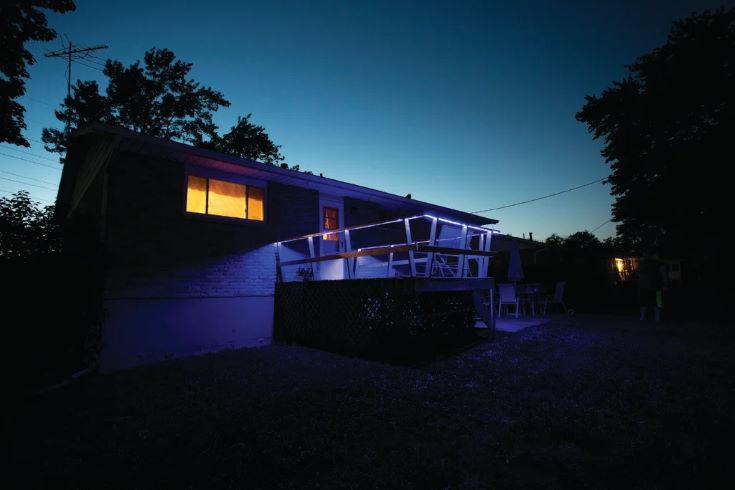 Deck Rail Lighting