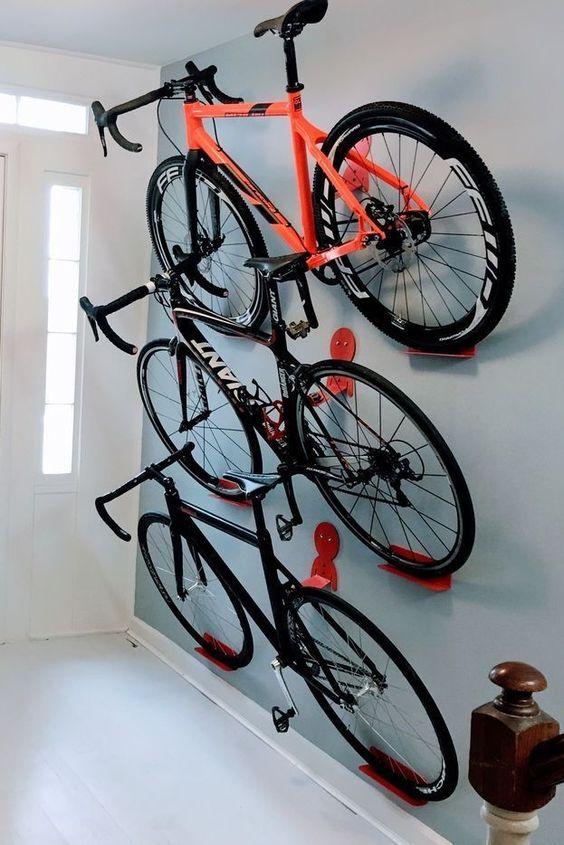 Wall-Mounted Bike Rack