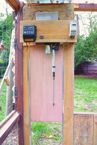 Automatic Entrance Chicken Coop Door