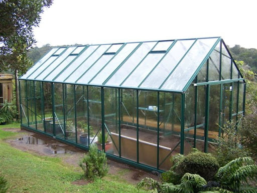 Commercial Glass House Greenhouse