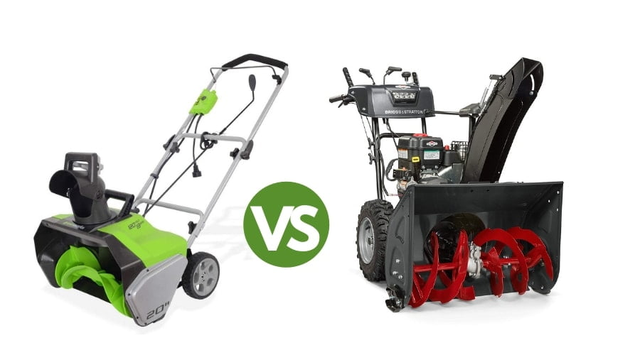 Difference Between Electric Vs Gas Snow Blower