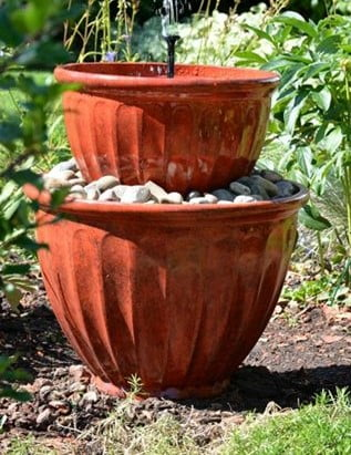 Flowerpot Water Feature