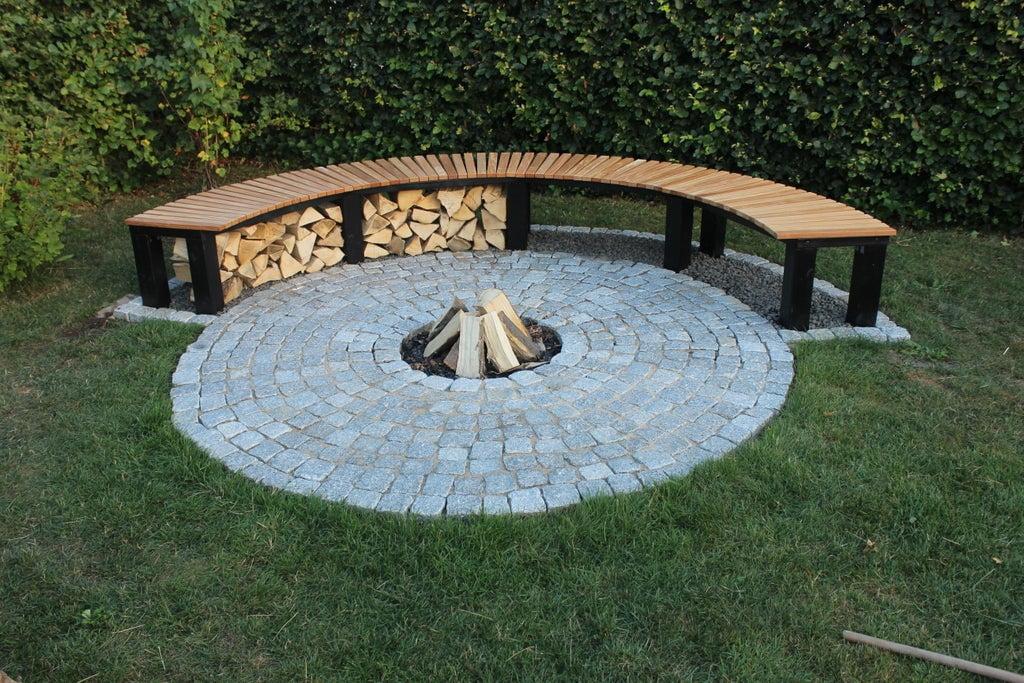 Full Cord Firewood Rack Plans