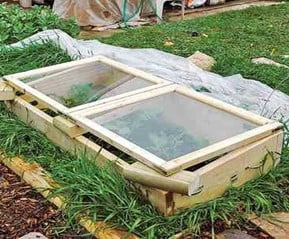 Light-weight lid Cold Frame