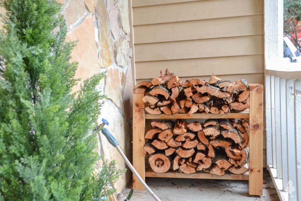 Mighty Firewood Rack Plan