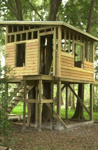 Pallet Treehouse