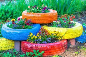 Some Gorgeous and Creative Ways to Repurpose and Reuse Your Old Tyres