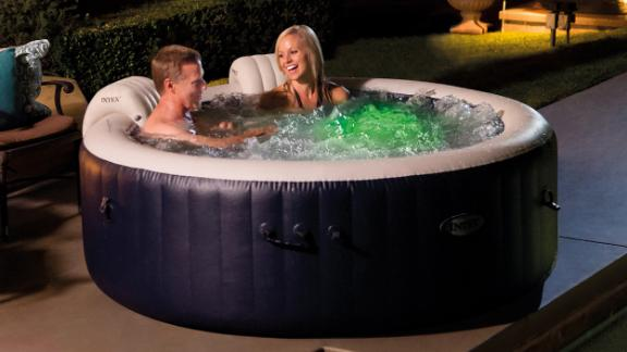 The Inflatable Hot Tub
