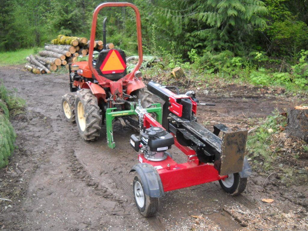 Troy Bilt 27 Ton Log Splitter 2