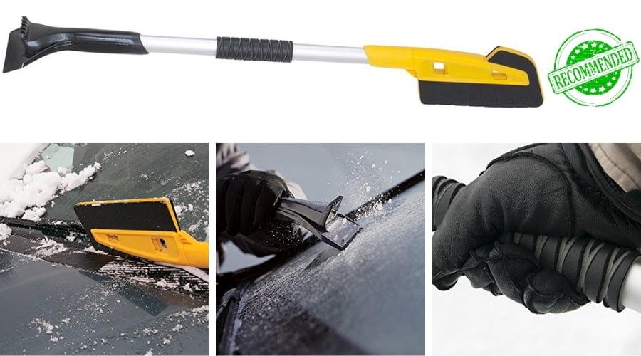 True Temper 36-inch Scratch-Free Snow Brush