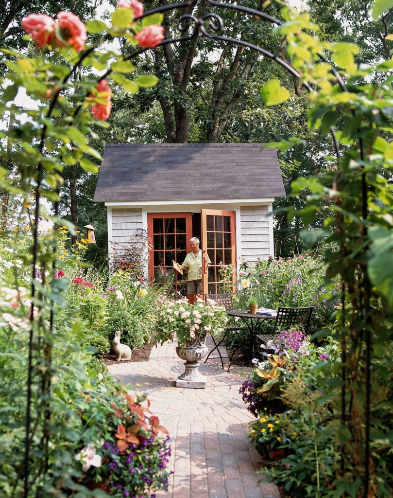 Include a Shed in your Backyard