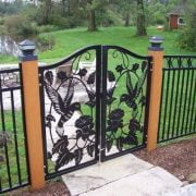 15 Amazing Fence Gate Ideas
