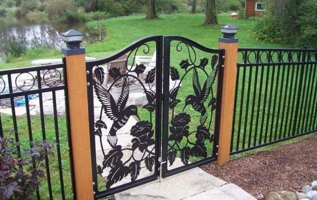 15 Amazing Fence Gate Ideas