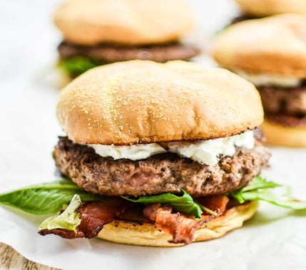 Bacon and Goat Cheese