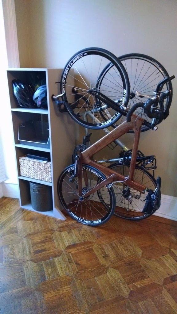Bike Storage Grip with Shelve