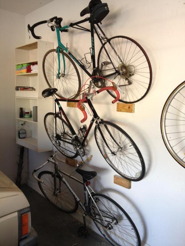 Bike Storage for Garage