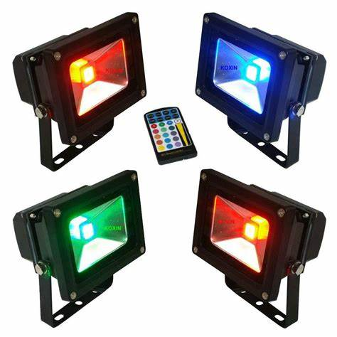 Colored LED Floodlights