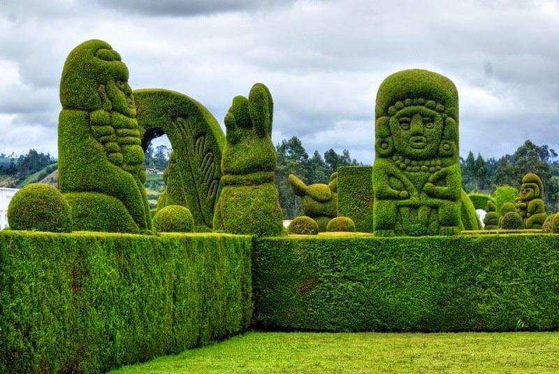 Cultural Bush Sculptures