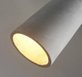 DIY Concrete Lamps