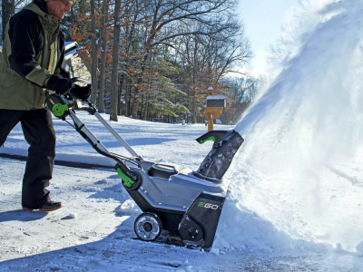 EGO Power + Snow Blower SNT2100 Review