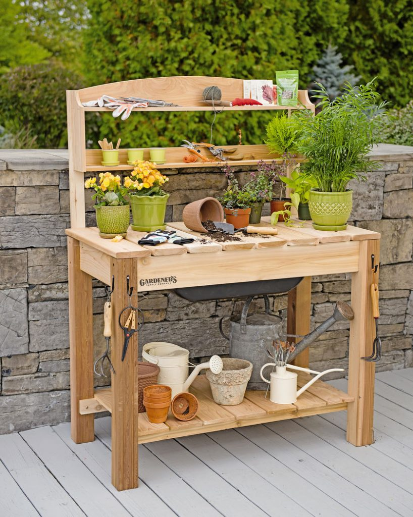 Easy to Disinfects Tools, Pots, Greenhouses, and Potting Benches