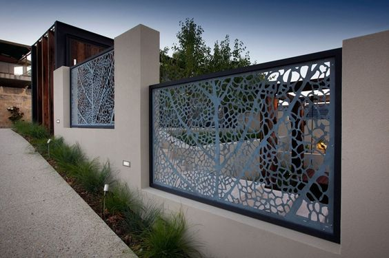 Etched Metal Panels