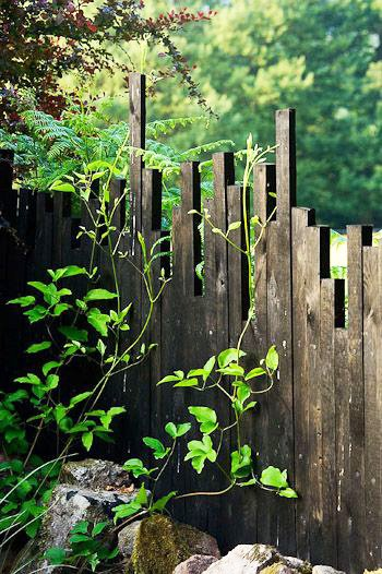Fence Gate Made from Recycled Lumber