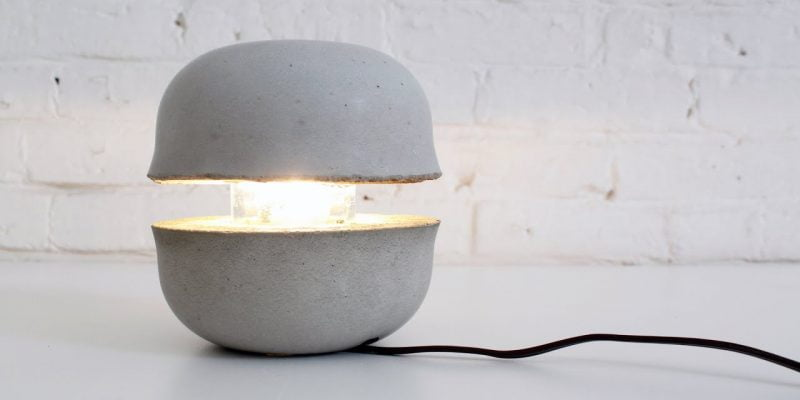 How to Make DIY Concrete Lamps?