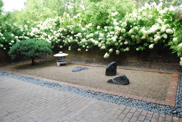 Japanese Brick Garden
