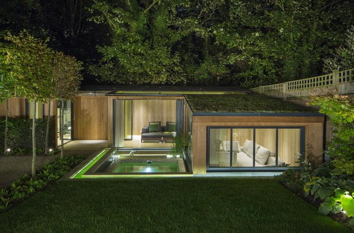Luxurious Garden House