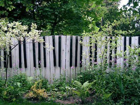 Piano Keys Fence Gate
